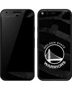Golden State Warriors Black Animal Print Google Pixel XL Skin