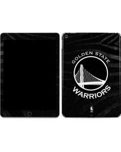 Golden State Warriors Black Animal Print Apple iPad Air Skin