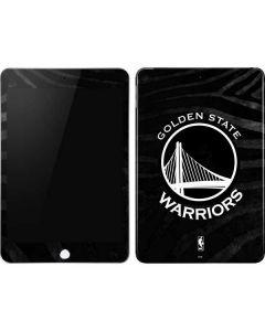 Golden State Warriors Black Animal Print Apple iPad Mini Skin