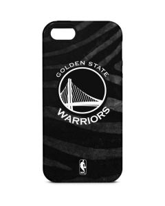 Golden State Warriors Black Animal Print iPhone 5/5s/SE Pro Case