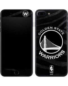 Golden State Warriors Black Animal Print iPhone 7 Plus Skin