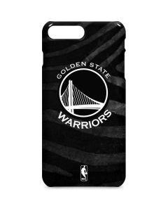 Golden State Warriors Black Animal Print iPhone 8 Plus Lite Case
