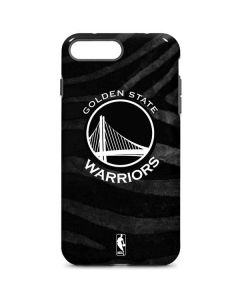 Golden State Warriors Black Animal Print iPhone 8 Plus Pro Case