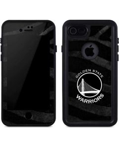 Golden State Warriors Black Animal Print iPhone 8 Waterproof Case