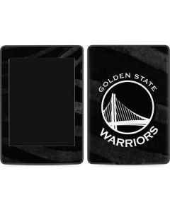 Golden State Warriors Black Animal Print Amazon Kindle Skin