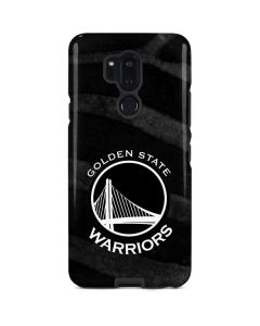Golden State Warriors Black Animal Print LG G7 ThinQ Pro Case