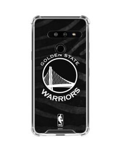 Golden State Warriors Black Animal Print LG G8 ThinQ Clear Case
