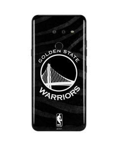 Golden State Warriors Black Animal Print LG G8 ThinQ Skin