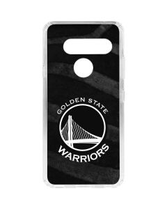 Golden State Warriors Black Animal Print LG V40 ThinQ Clear Case