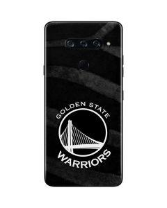 Golden State Warriors Black Animal Print LG V40 ThinQ Skin