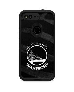 Golden State Warriors Black Animal Print LifeProof Fre Google Skin
