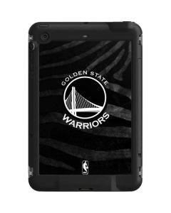 Golden State Warriors Black Animal Print LifeProof Fre iPad Mini 3/2/1 Skin