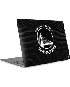Golden State Warriors Black Animal Print Apple MacBook Air Skin