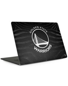 Golden State Warriors Black Animal Print Apple MacBook Pro 15-inch Skin