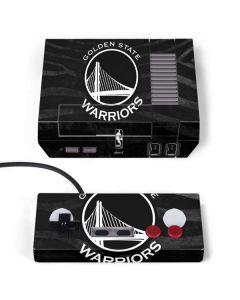 Golden State Warriors Black Animal Print NES Classic Edition Skin