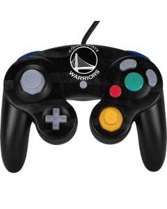 Golden State Warriors Black Animal Print Nintendo GameCube Controller Skin