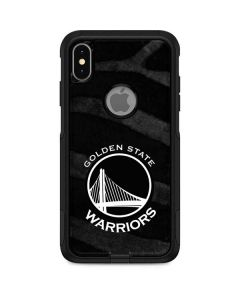 Golden State Warriors Black Animal Print Otterbox Commuter iPhone Skin