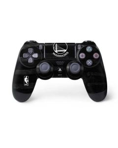 Golden State Warriors Black Animal Print PS4 Controller Skin