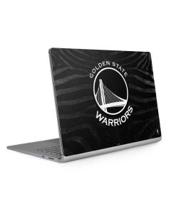 Golden State Warriors Black Animal Print Surface Book 2 15in Skin