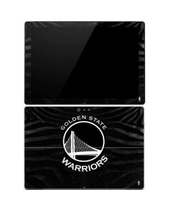 Golden State Warriors Black Animal Print Surface Pro 4 Skin