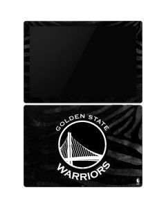 Golden State Warriors Black Animal Print Surface Pro 6 Skin