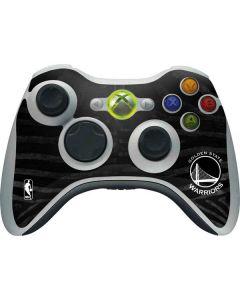 Golden State Warriors Black Animal Print Xbox 360 Wireless Controller Skin