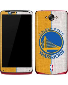 Golden State Warriors Canvas Motorola Droid Skin