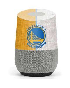 Golden State Warriors Canvas Google Home Skin