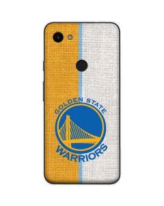 Golden State Warriors Canvas Google Pixel 3a Skin