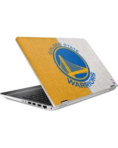 Golden State Warriors Canvas HP Pavilion Skin