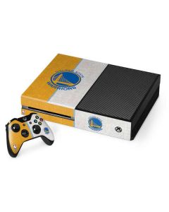 Golden State Warriors Canvas Xbox One Console and Controller Bundle Skin