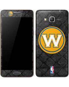 Golden State Warriors Dark Rust Galaxy Grand Prime Skin