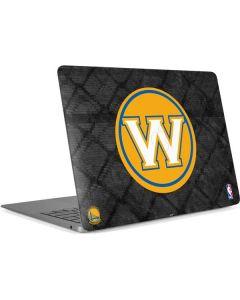 Golden State Warriors Dark Rust Apple MacBook Air Skin