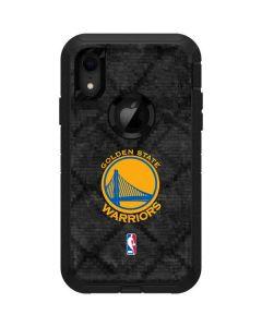 Golden State Warriors Dark Rust Otterbox Defender iPhone Skin