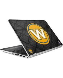 Golden State Warriors Dark Rust HP Pavilion Skin