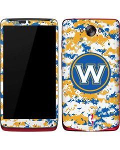 Golden State Warriors Digi Camo Motorola Droid Skin