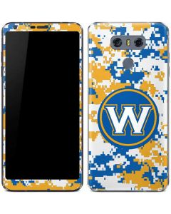 Golden State Warriors Digi Camo LG G6 Skin