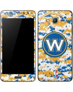Golden State Warriors Digi Camo Galaxy Grand Prime Skin