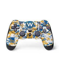 Golden State Warriors Digi Camo PS4 Pro/Slim Controller Skin