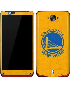 Golden State Warriors Distressed Motorola Droid Skin