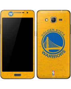 Golden State Warriors Distressed Galaxy Grand Prime Skin