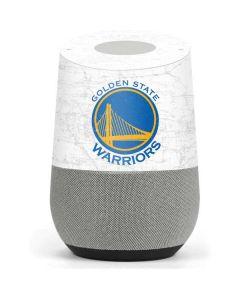 Golden State Warriors Distressed Google Home Skin