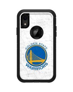 Golden State Warriors Distressed Otterbox Defender iPhone Skin