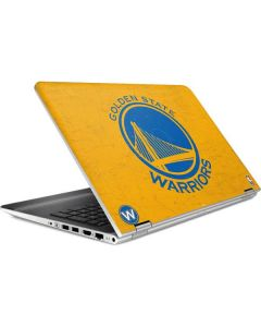 Golden State Warriors Distressed HP Pavilion Skin