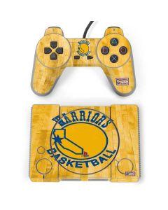 Golden State Warriors Hardwood Classics PlayStation Classic Bundle Skin