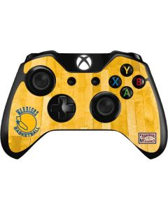 Golden State Warriors Hardwood Classics Xbox One Controller Skin