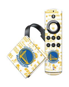 Golden State Warriors Historic Blast Amazon Fire TV Skin