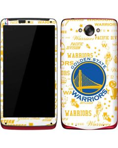 Golden State Warriors Historic Blast Motorola Droid Skin