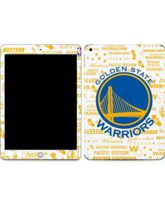 Golden State Warriors Historic Blast Apple iPad Skin