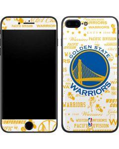 Golden State Warriors Historic Blast iPhone 7 Plus Skin